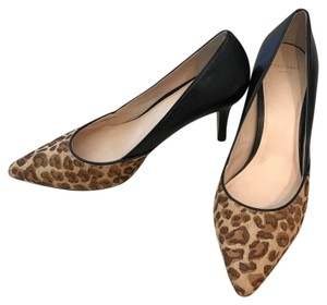 Cole Haan black and leopard Pumps