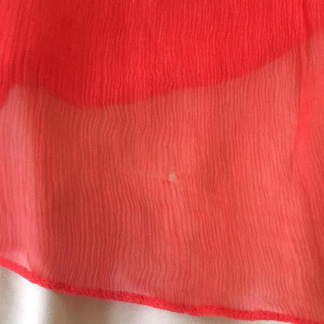 The Cue Maxi Skirt red
