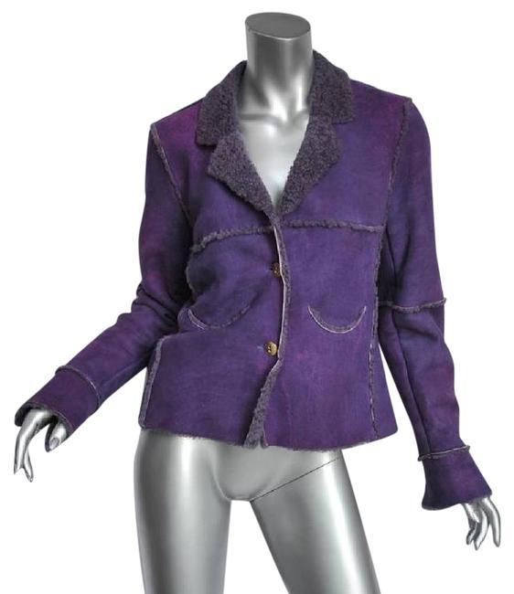 Preload https://img-static.tradesy.com/item/21167199/chanel-purple-identification-00a-womens-shearling-patchwork-coat-leather-jacket-size-6-s-0-1-650-650.jpg