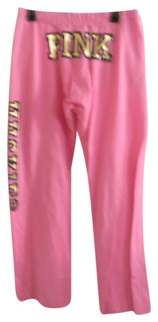 Preload https://img-static.tradesy.com/item/21167214/victoria-s-secret-pink-gold-metallic-graphics-love-boyfriend-lounge-xs-relaxed-fit-pants-size-2-xs-2-0-1-650-650.jpg