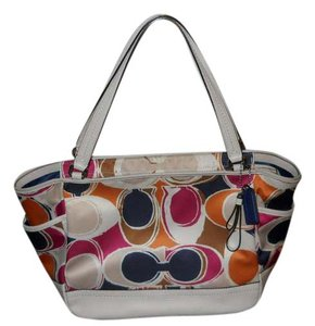 Coach Tote in Multi Color
