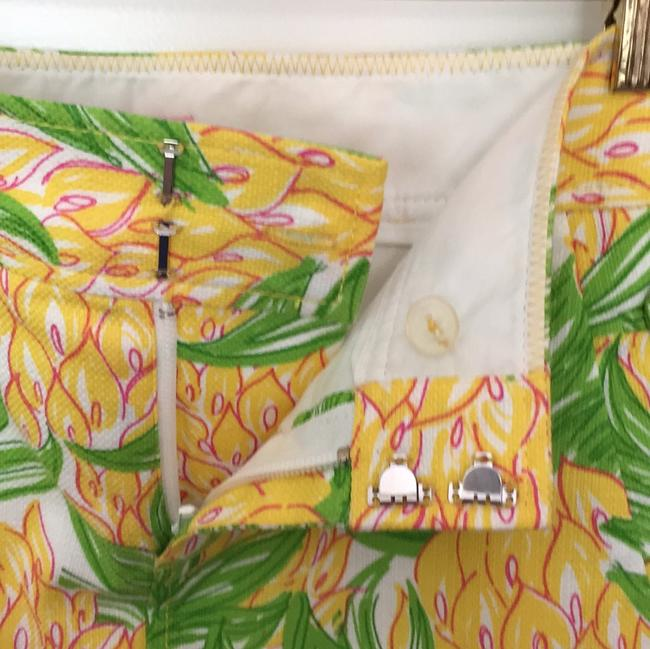 Lilly Pulitzer Preppy Mini Skirt White / green / yellow / pink