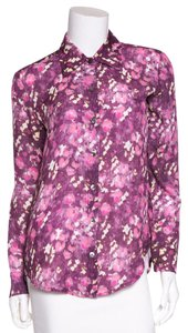 Daniela Corte Button Down Shirt Purple