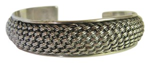 Other Braided Sterling Silver Cuff Bracelet 27 Grams