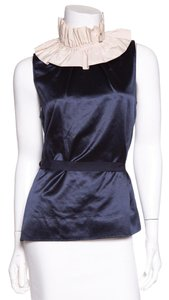 Marc by Marc Jacobs Top Navy & Cream