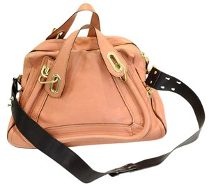 Chloé Satchel in pink