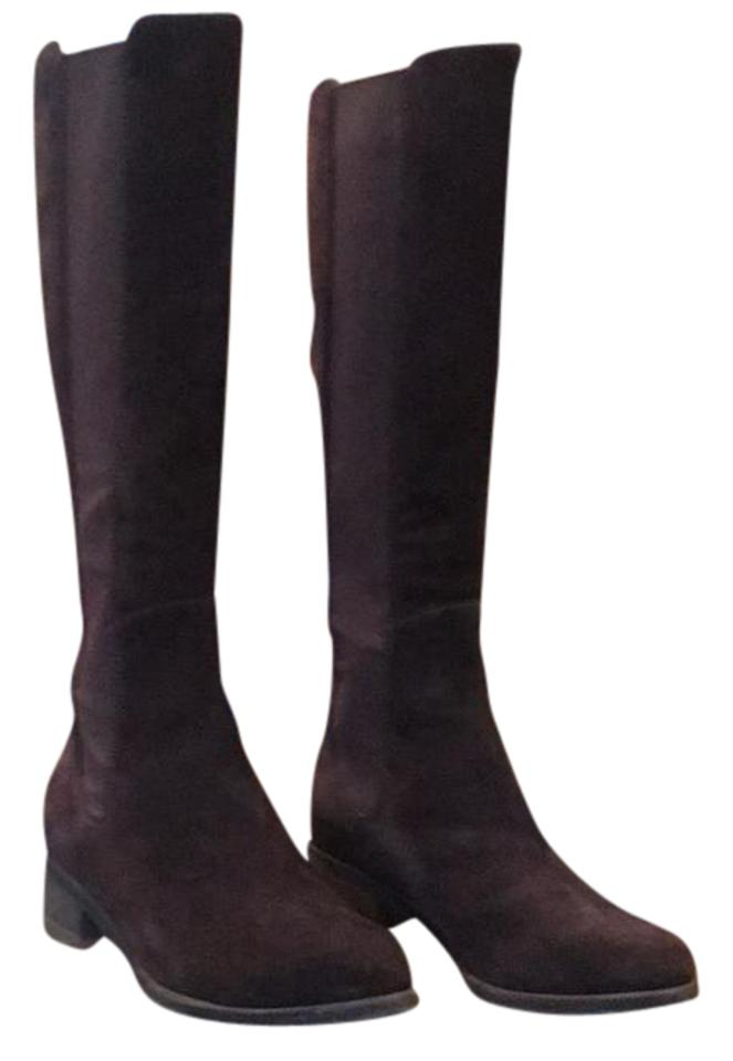 Cole Boots/Booties Haan Chocolate Suede Tall Boots/Booties Cole 28b992