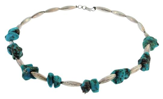 Preload https://img-static.tradesy.com/item/21167815/turquoise-sterling-silver-antique-necklace-0-1-540-540.jpg