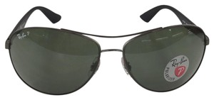 Ray-Ban Polarized Oversized Aviator Sports RB3526 029/9A Metal Sunglasses 135m