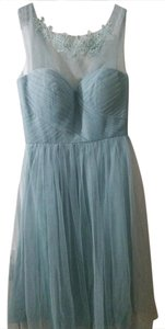 "BHLDN New Aegean Opal Jenny Yoo Wedding/Bridesmaid ""Chloe"" Feminine Bridesmaid/Mob Dress Size 2 (XS)"