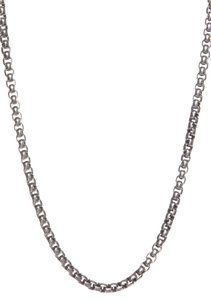 David Yurman David Yurman Sterling Silver Box Chain Necklace