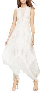 BCBGMAXAZRIA Andi Lace White Maxi Wedding Dress