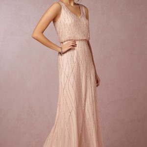 Adrianna Papell Blush Bidding Open On Ebay Starting At $175. Dress