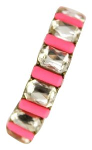 BaubleBar Beautiful Baublebar Hot Pink w/ Crystals