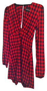 Reformation Plaid Dress
