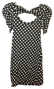 Love Culture short dress Black and White on Tradesy