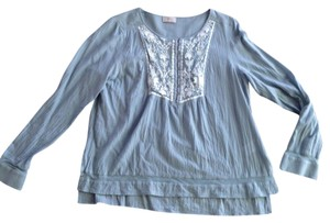 Wrapper Top Soft blue
