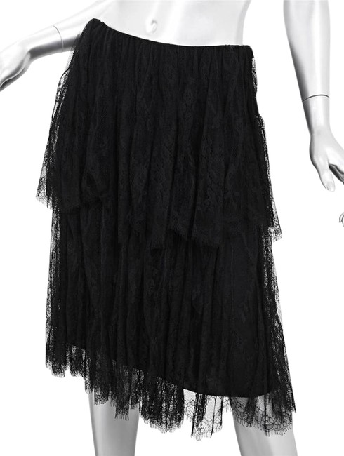 Preload https://img-static.tradesy.com/item/21168313/chanel-black-01p-womens-lace-tiered-a-line-full-knee-length-midi-skirt-size-8-m-29-30-0-2-650-650.jpg