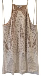 Bar III Top White lace
