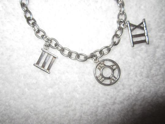 Other Sterling Silver Roman Numerals Charm Bracelet Link