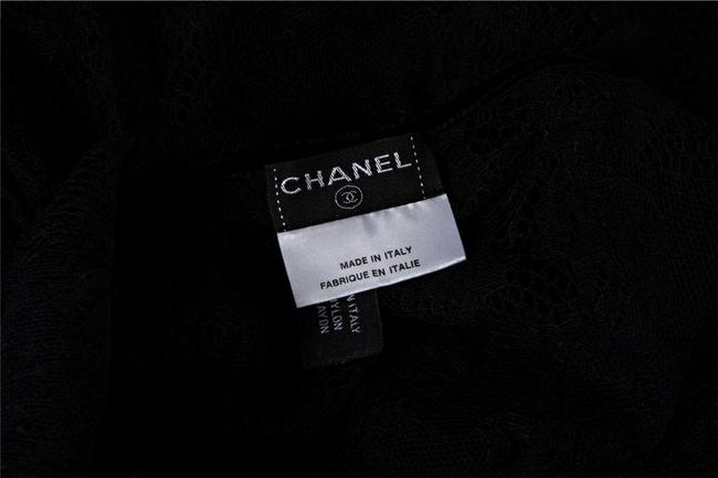 Chanel Sheer Top BLACK