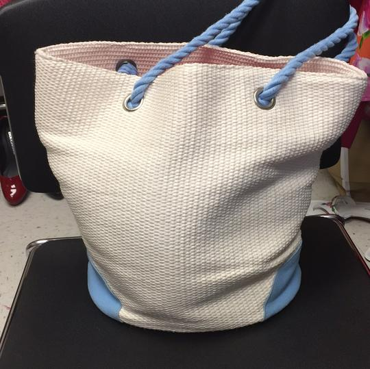 Dolce&Gabbana Tote in light Blue/ cream