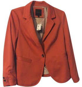 The Limited Rust Orange Blazer