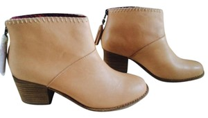 TOMS Ankle Leila Beige Boots