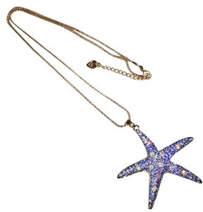Betsey Johnson Stunning Starfish w/ Embellished Crystals