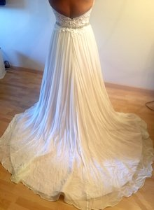 Cristiano Lucci Brand New Cristiano Lucci Romantic Delphine Wedding Gown Silk Sheffon Wedding Dress