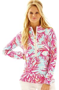 Lilly Pulitzer Popover Skipper Popover Underwater Escape Sweater