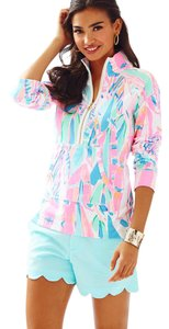 Lilly Pulitzer Popover Skipper Popover Out To Sea Sweater