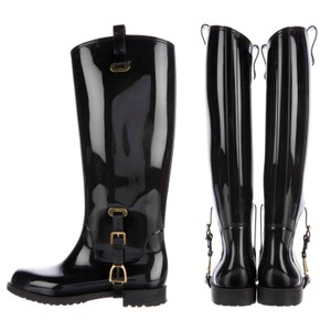 Ralph Lauren Collection Riding Rain Boots