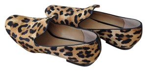 Banana Republic Fur Panther Flats