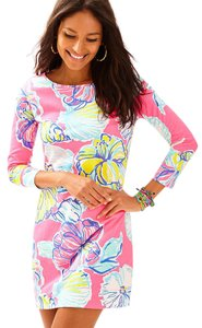 Lilly Pulitzer short dress Kir Royal Pink Swept By The Tides Marlowe Marlowe on Tradesy