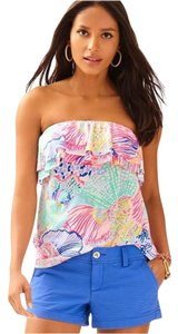 Lilly Pulitzer Roar Of The Seas Rilo Tube Tube Top