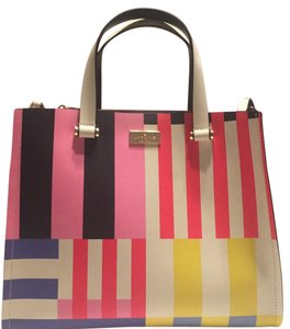 Kate Spade Satchel in pink/blue, multi colors