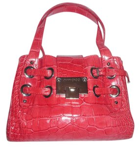 Jimmy Choo Satchel in RED