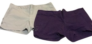 The Limited Mini/Short Shorts khaki and plum