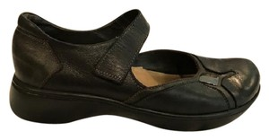 Naot Maryjane Leather Comfort Womens 8.5 Black Flats