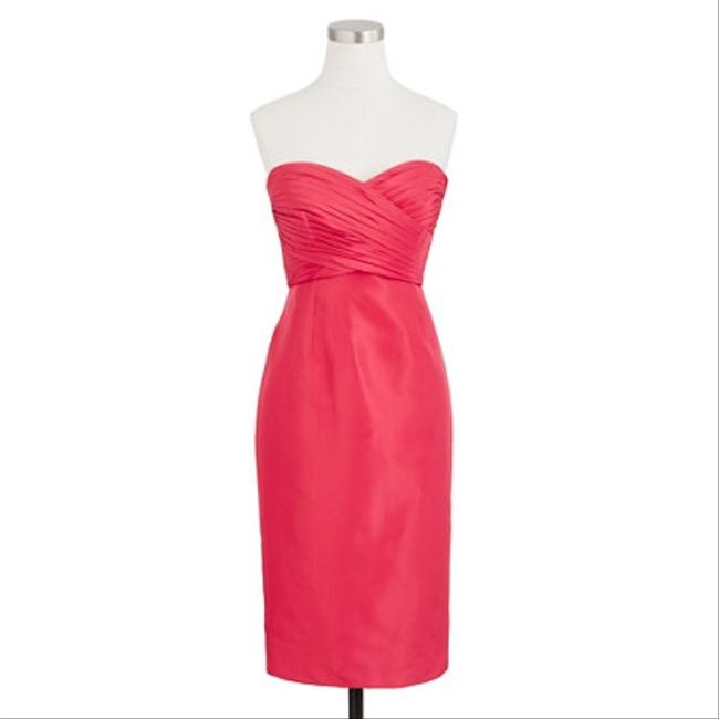 J.Crew Taffeta Prom Bridesmaid Strapless Dress