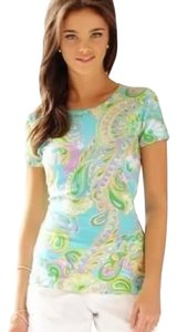 Lilly Pulitzer T Shirt SHORELY BLUE-