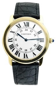 Cartier * Cartier Ref. 2988 Ronde Solo Yellow Gold Watch