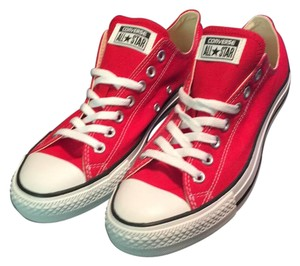 Converse Red and White Athletic
