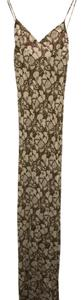 Brown and off-white Maxi Dress by Stella McCartney