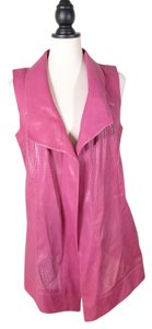 Escada Leather Vest