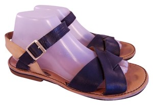 Kork-Ease Woman Gladiator Strappy black and beige Sandals