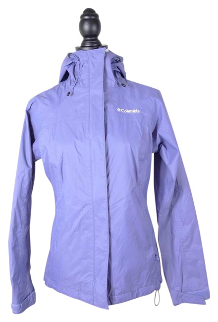 Item - Lilac XS Omni Tech Hooded Jacket Size 2 (XS)