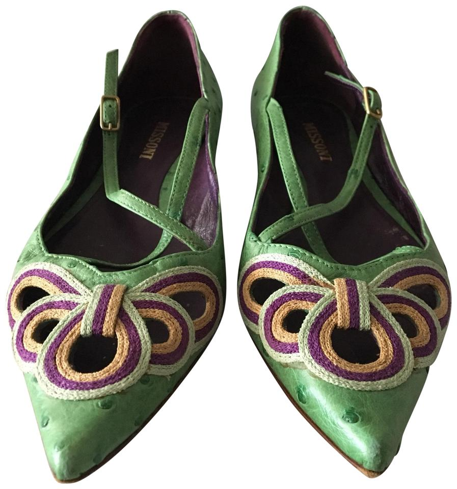 WOMEN Missoni Green . and Flats Different styles and . styles dd59ce