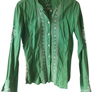 3J Workshop Button Down Shirt Green